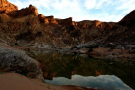 Fish River canyon hike