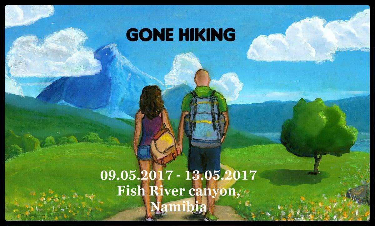 Gone hiking Fish