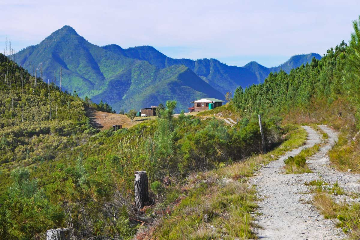 An overnight hut on the Outeniqua Trail