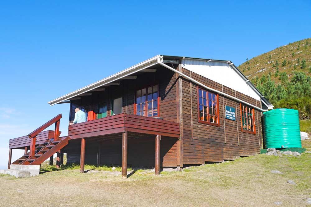 Windmuelnek overnight hut, Outeniqua Trail