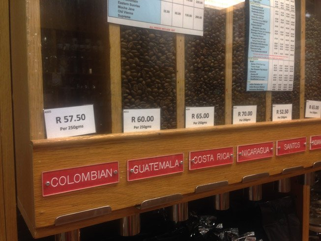 The coffee blends in your local coffee shop is basically a list of the countries in Central America! Coffee around the world.