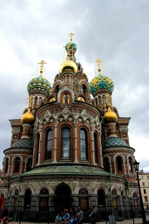 Church of the Savior on Blood, one of tourists' favorite sights in the city