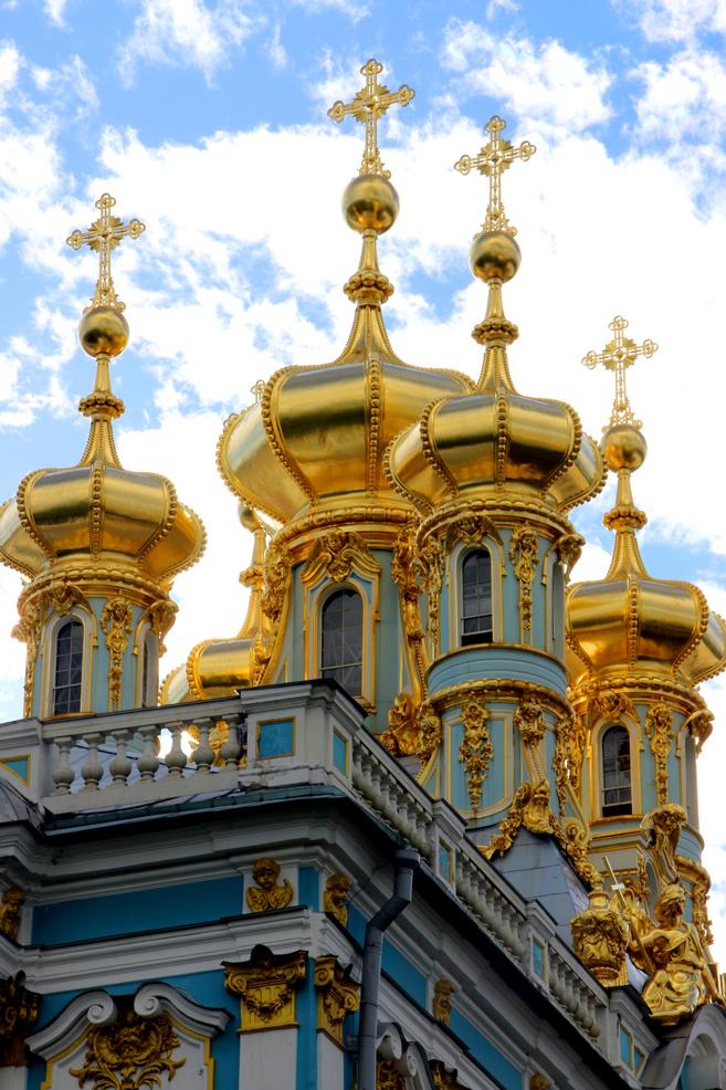Catherine palace church, Tsarskoye Selo.
