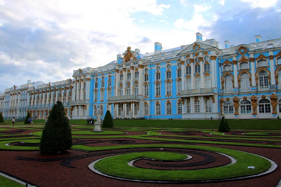 Catherine palace, Tsarskoye Selo. St.Petersburg palaces and parks