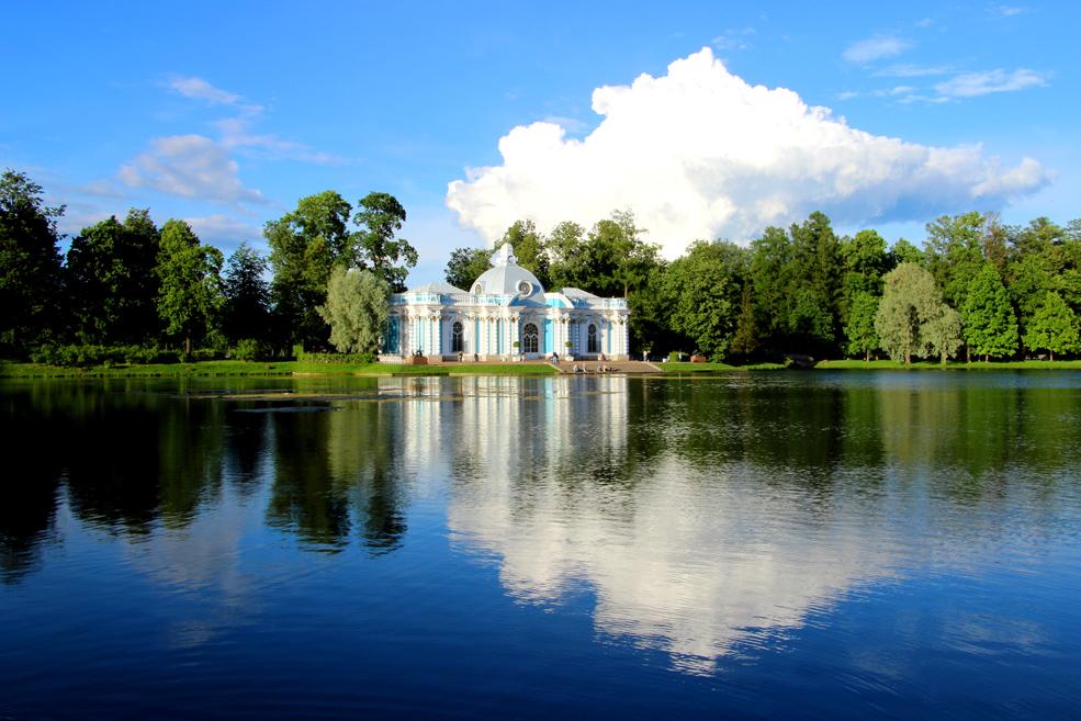 The Grotto, Catherine park, Tsarskoye Selo.