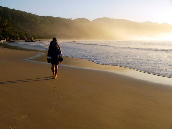 Praia do Sul, Ilha Grande, Brazil