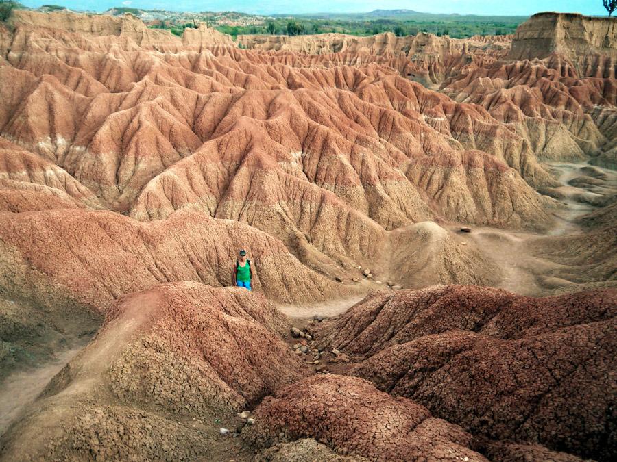 Colombia tatacoa desert