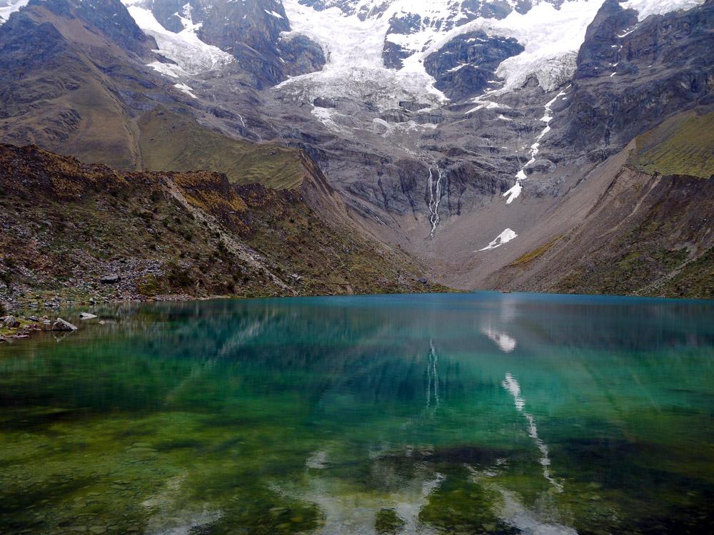 Salkantay Lake, Peru,