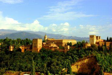 The Alhambra complex, Granada, Andalucia, Spain
