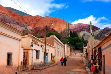 The Hill of Seven colors, Purmamarca village, Salta