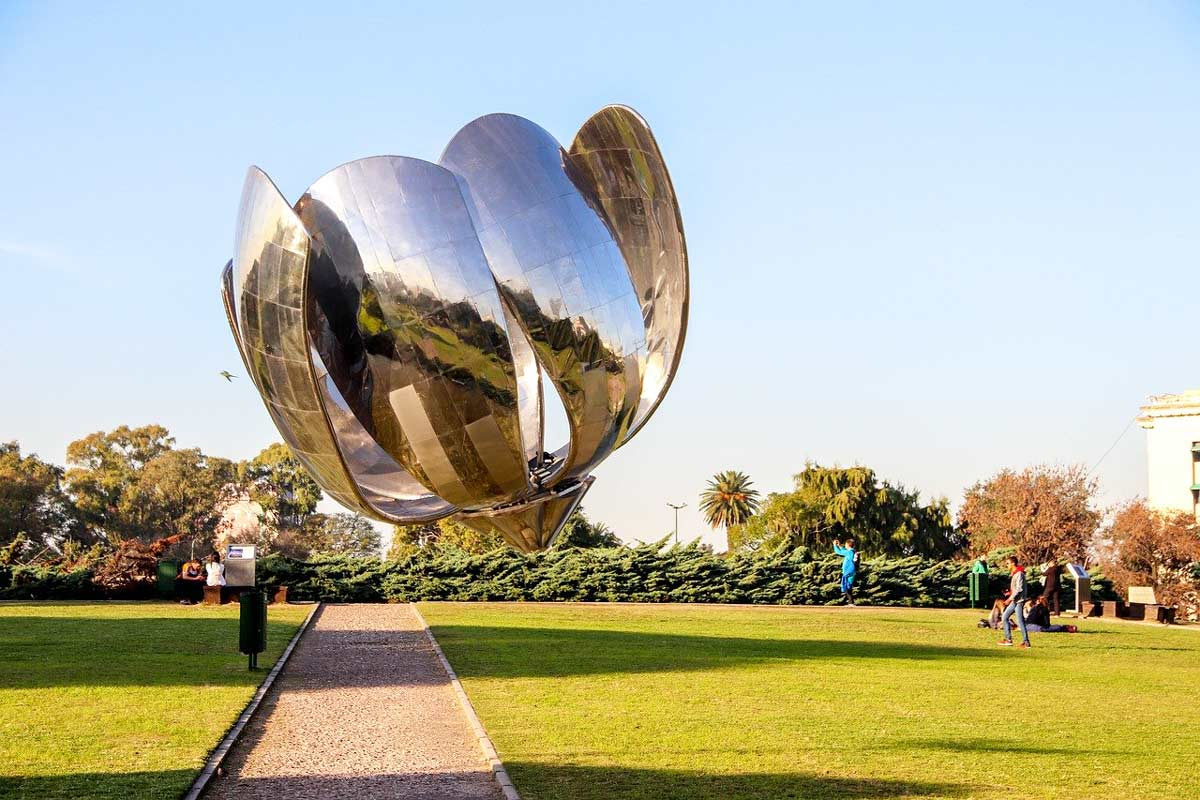 The flower, Buenos Aires, Argentina