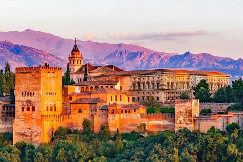 The Alhambra Palace, Granada, Spain