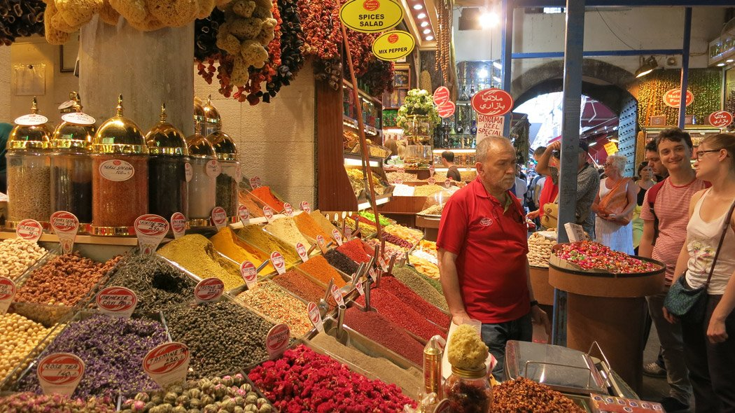 The Grand Bazaar, Instanbul.