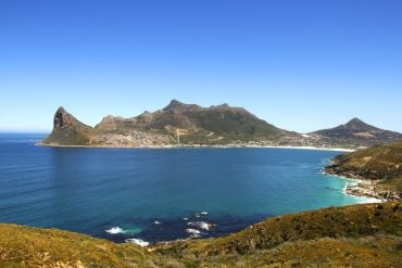 Driving from Cape Town to Cape Agulhas