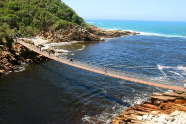 Suspension bridge, Storms River Mouth National park, Tsitsikamma