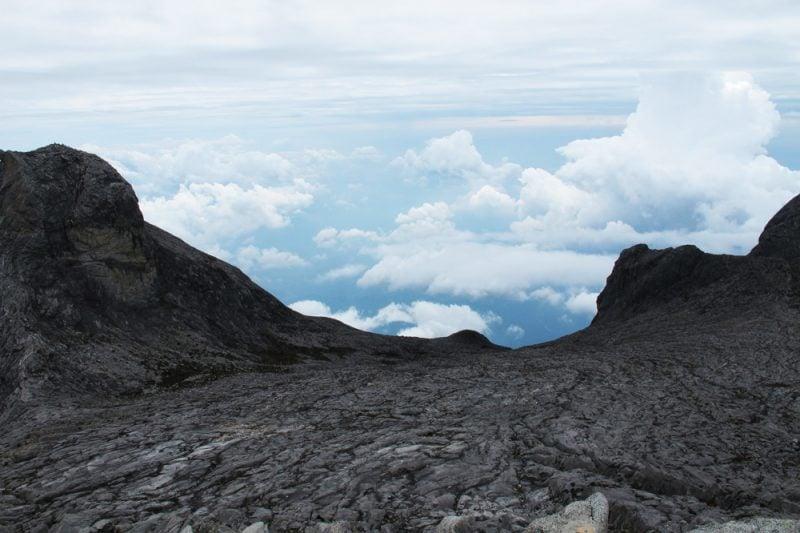 climbing mt kinabalu borneo