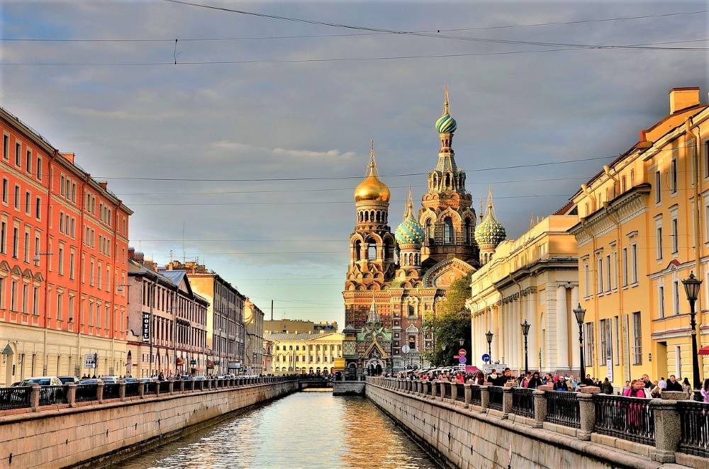 Church of the Savior on Spilled Blood, St.Petersburg