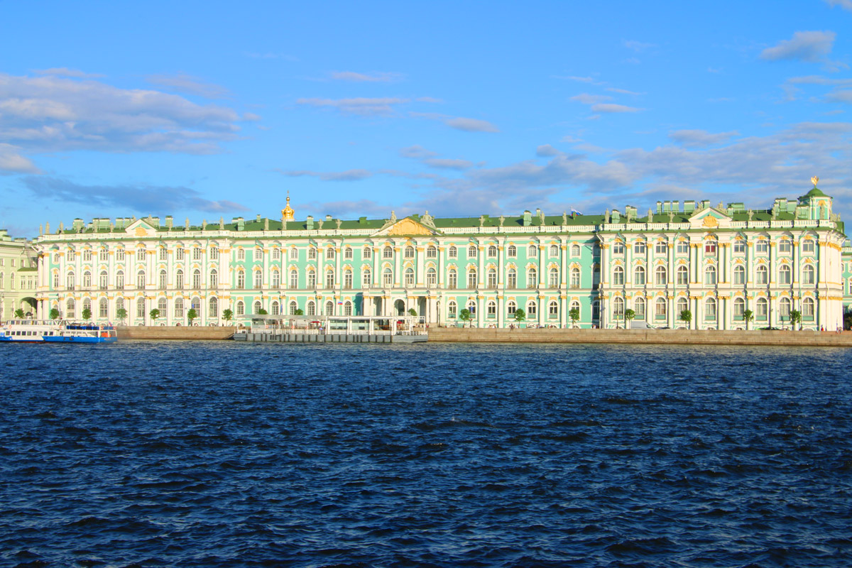 The State Hermitage in St.Petersburg is the second largest art museum in the world.