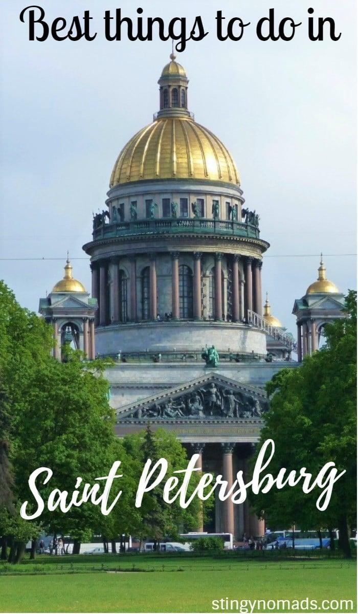 St Petersburg Nood: Things To Do In St.Petersburg, Russia