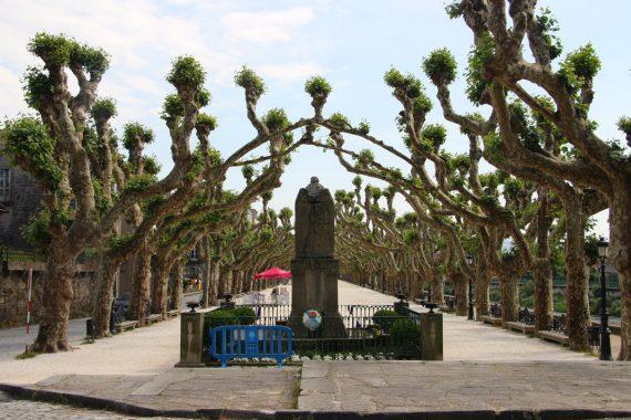 Padron, Portuguese Camino de Santiago