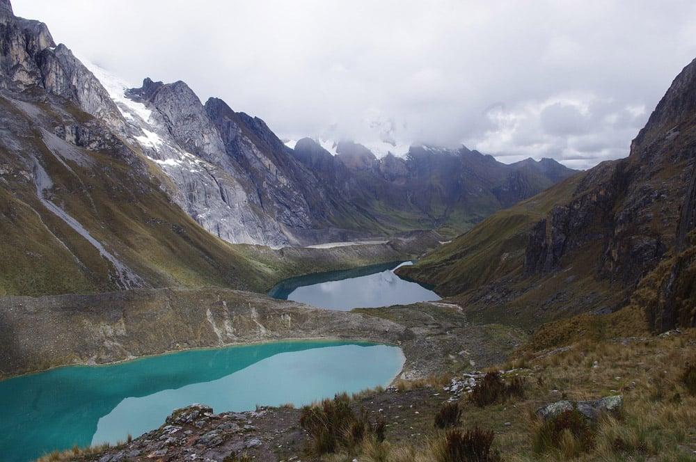 Glacial Lakes in Cordillera Huayhuash.