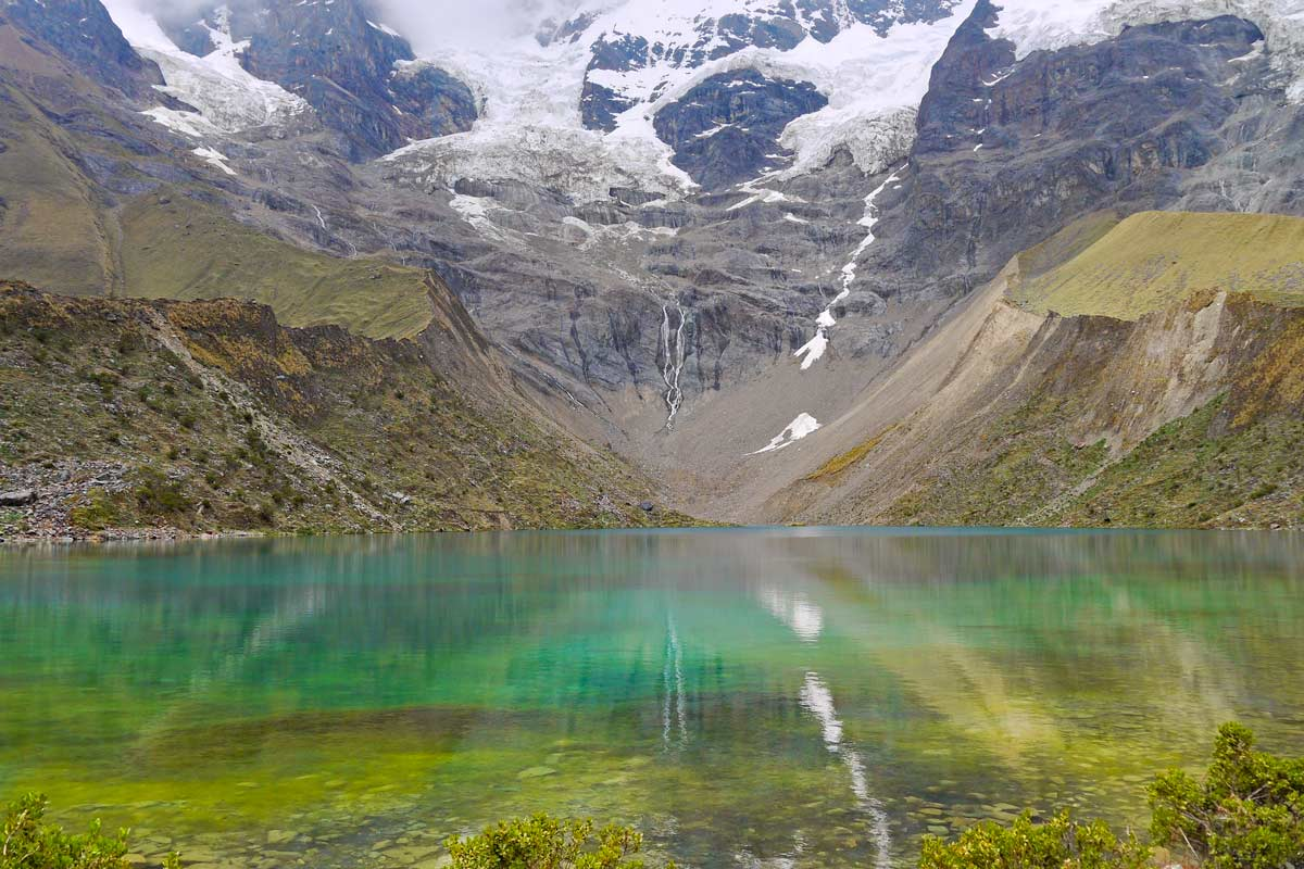 Humantay Lake an impressive lake on the Salkantay trek