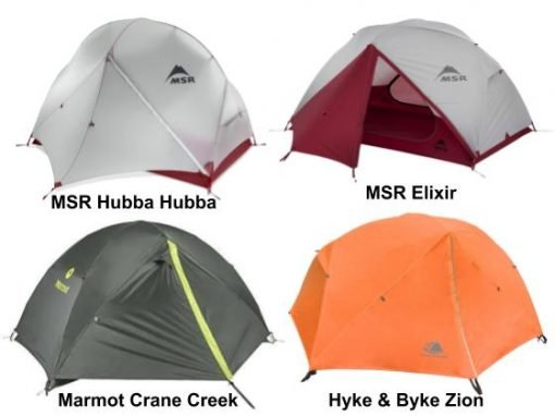 Backpacking tents for hiking in Patagonia