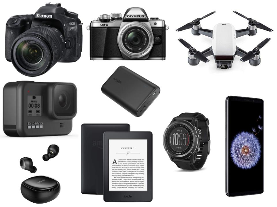 Electronic devices to pack for hiking in Patagonia