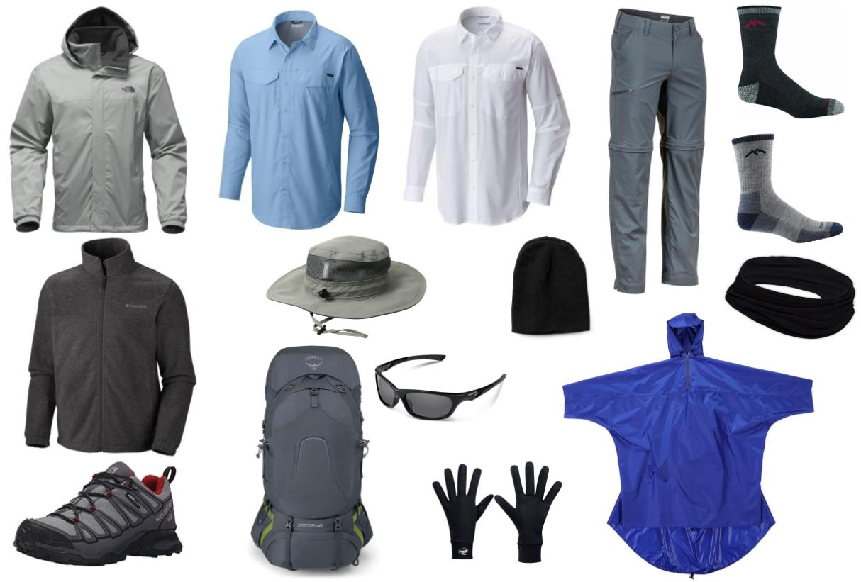 Men's hiking clothes for Patagonia