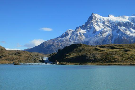 Salto Grande and Pehoé lake, Los Cuernos - day hikes in Torres del Paine