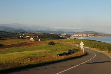 Scenery on the Camino del Norte