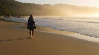 Aventureiro beach, Ilha Grande, Brazil