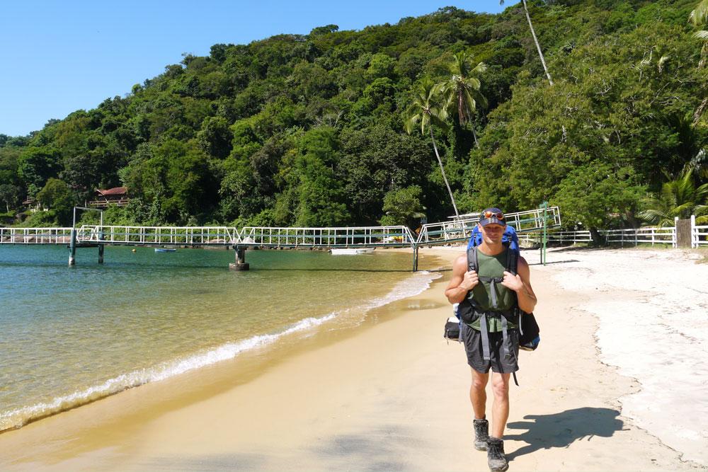 Saco do Céu beach, Ilha Grande
