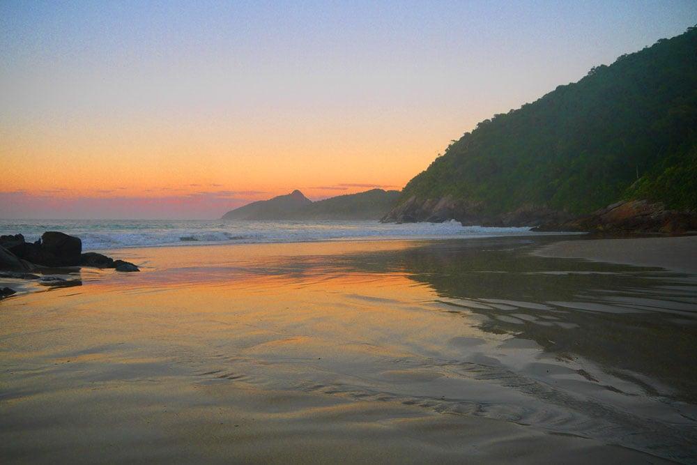 Sunrise Ilha Grande Brazil