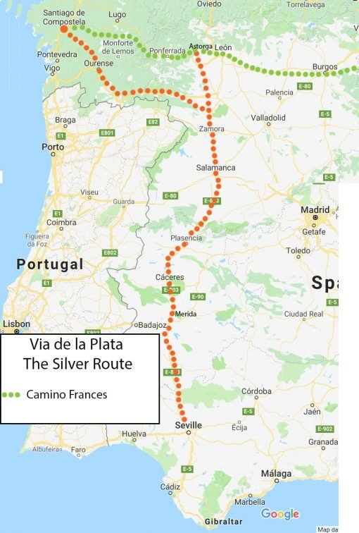 Via de la Plata, the longest Camino de Santiago route