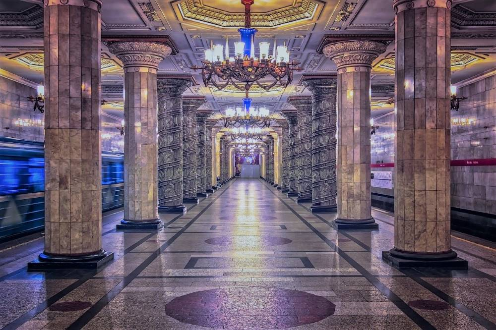 St.Petersburg metro a must visit place