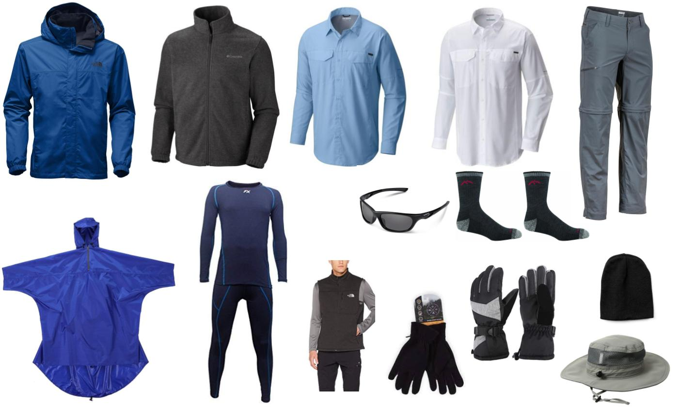 Everest Base Camp Trek Packing List -Suggested hiking clothes for men e712a5582b70