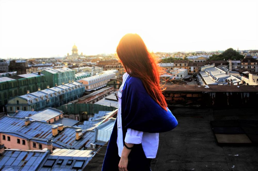 St.Petersburg roof tour, awesome thing to do in the city