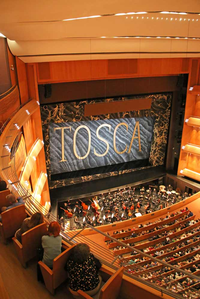 The new stage of the Mariinsky theater in St.Petersburg