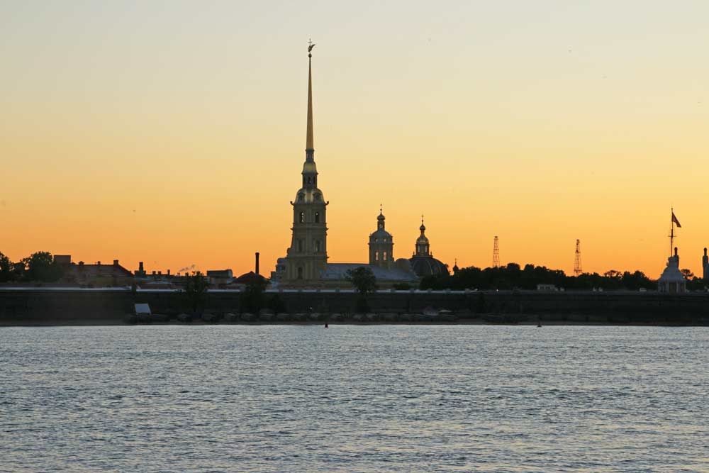 The Peter and Paul fortress in St.Petersburg, a not-to-miss place