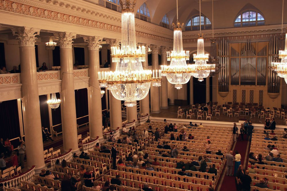 The Philharmonic Hall, St.Petersburg