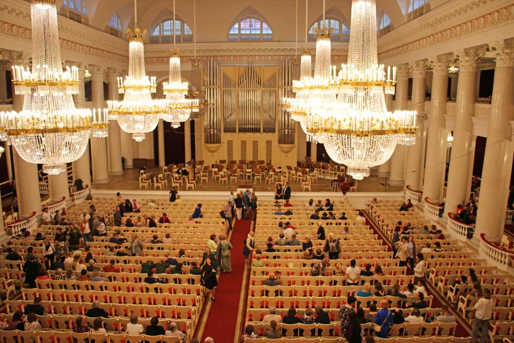 Saint Petersburg Philharmonic Hall a great place to visit for classical music