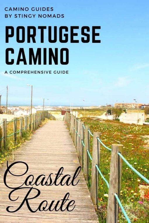 Portuguese Camino Coastal Route pin