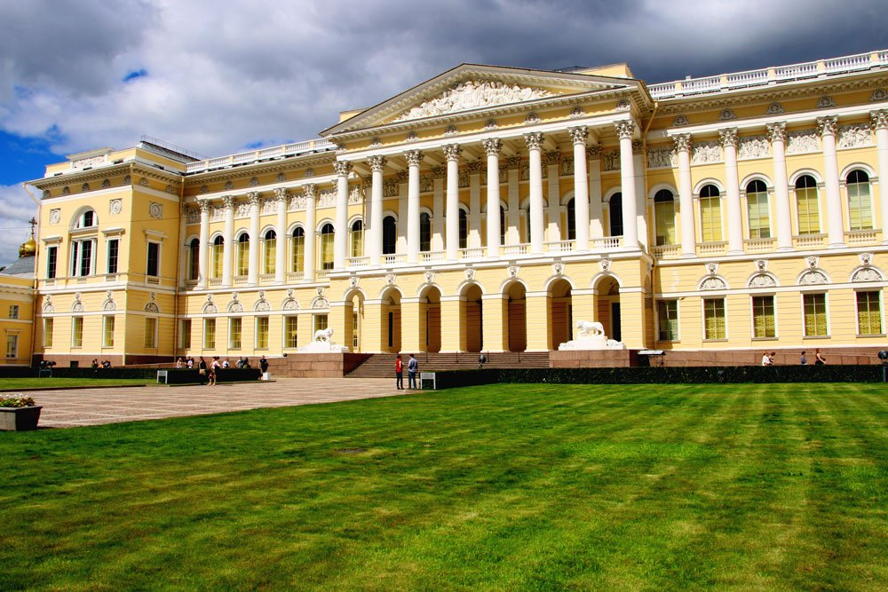 The Russian museum. Places to visit in St.Petersburg