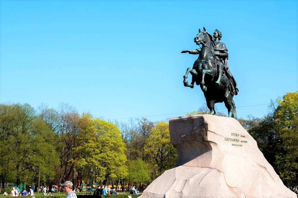 The Bronze Horseman monument. Things to do in St.Petersburg