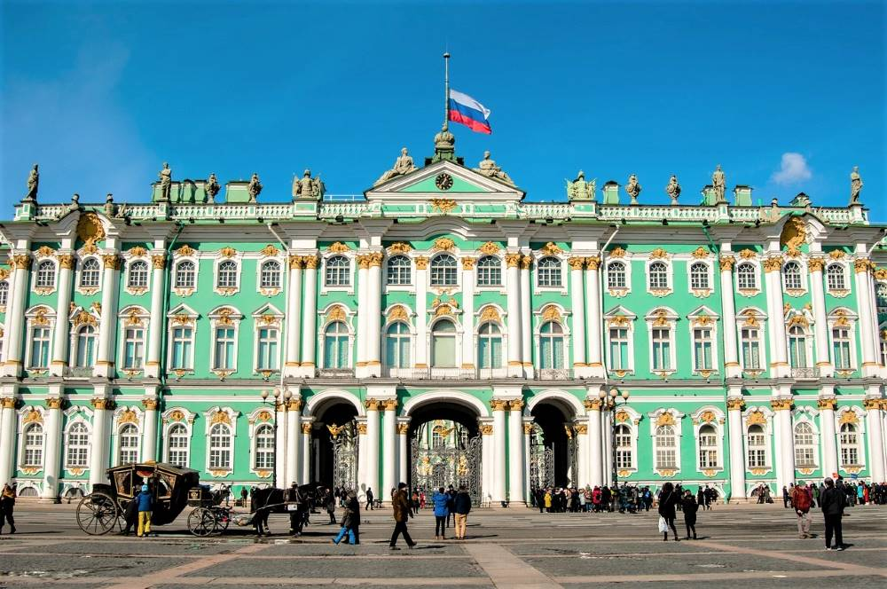 The State Hermitage museum. Top thing to do in St.Petersburg