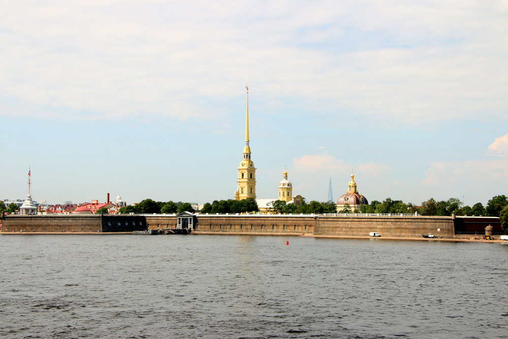 The Peter and Paul fortress one of the must do things in St.Petersburg