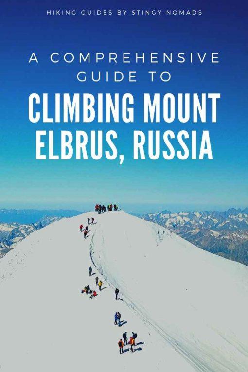 Climbing Mt.Elbrus pin