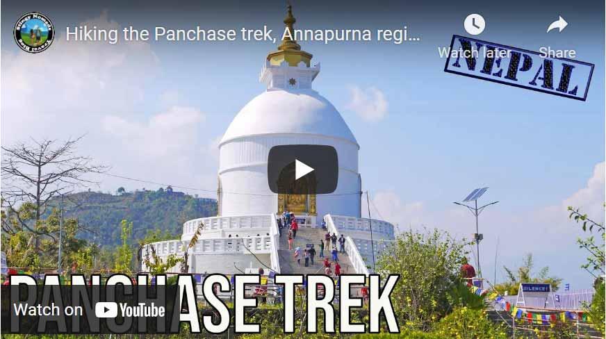 Panchase trek YouTube thumbnail