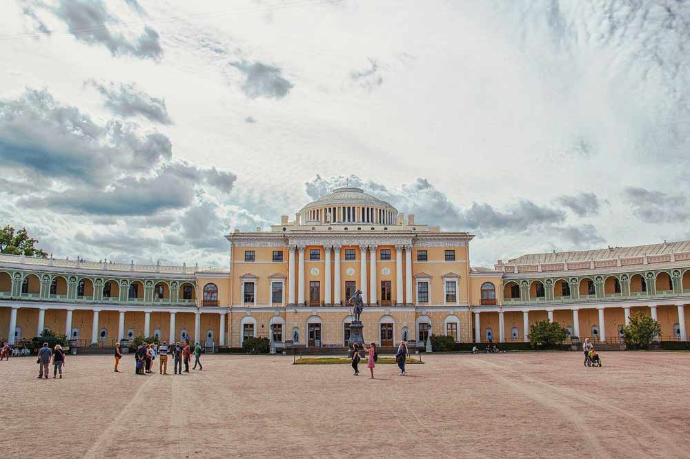 The palace in Pavlovsk, Saint Petersburg